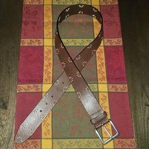 New Gap Womens Leather Belt